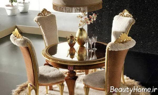 مدل میز غذا خوری کلاسیک
