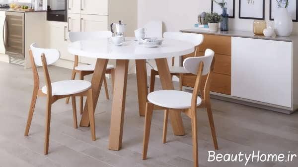مدل میز ناهار خوری چوبی 2018