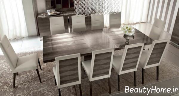میز غذا خوری شیک و مدرن