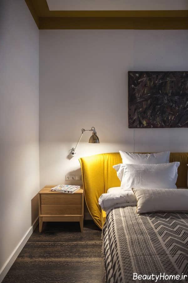 طراحی اتاق پذیرایی با تم طلایی