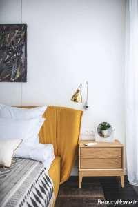 دکوراسیون منزل با رنگ طلایی و سبز
