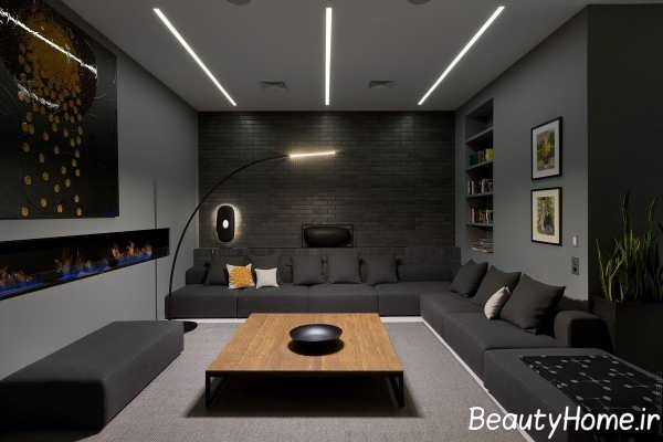 طراحی متفاوت اتاق پذیرایی