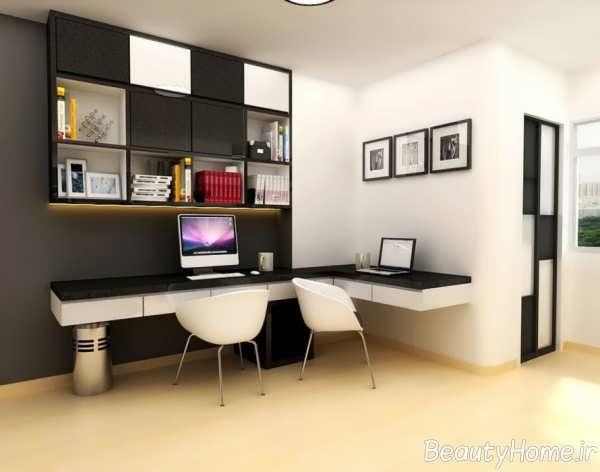 طراحی اتاق مطالعه