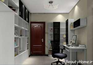 طراحی متفاوت اتاق مطالعه