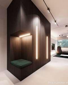 طراحی داخلی با چوب گردو