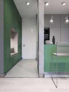 طراحی شیک فضای داخلی آپارتمان