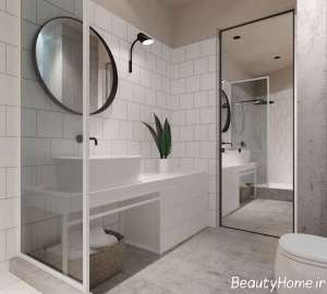 طراحی فضای داخلی حمام آپارتمان