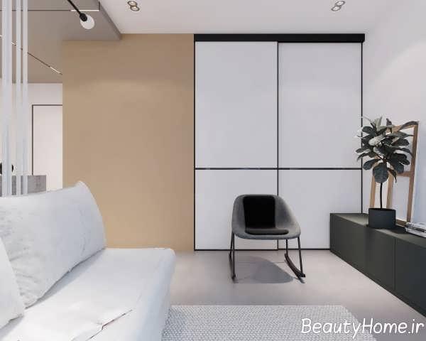 نمای داخلی ایده آل آپارتمان