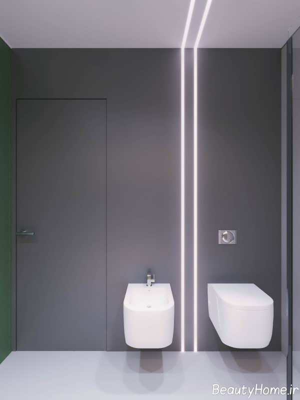 دکوراسیون عالی حمام و دستشویی آپارتمان