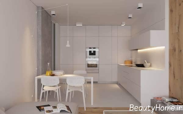 فضای داخلی آشپزخانه
