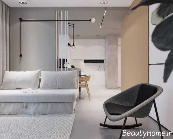 طراحی ایده آل فضای داخلی آپارتمان