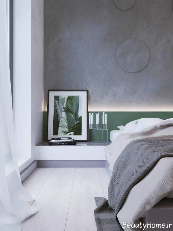 دکوراسیون مدرن اتاق خواب آپارتمان