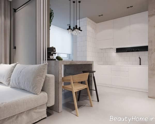 طراحی فوق العاده اتاق خواب آپارتمان