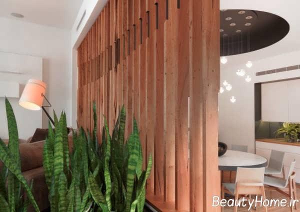 طراحی فوق العاده پارتیشن اتاق