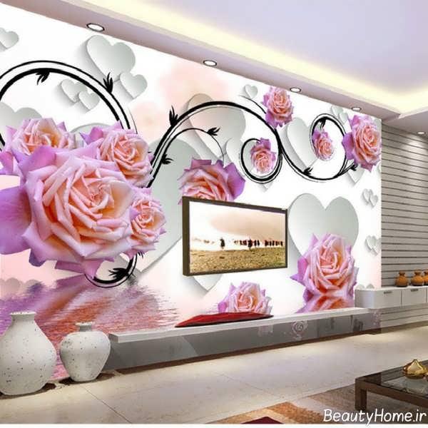 مدل کاغذ دیواری زیبا و جدید