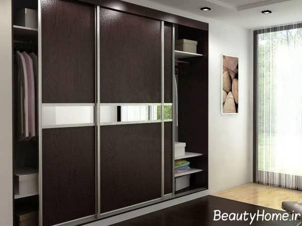 طراحی کمد دیواری کشویی