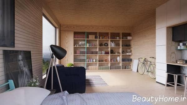 دیزاین لاکچری اتاق نشیمن