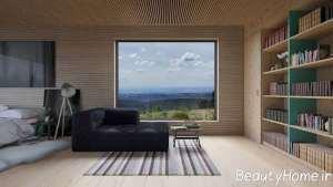 دیزاین جذاب اتاق پذیرایی