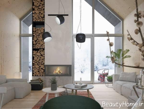 طراحی زیبای اتاق