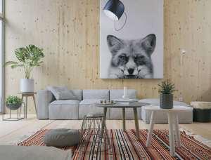 طراحی زیبای اتاق نشیمن