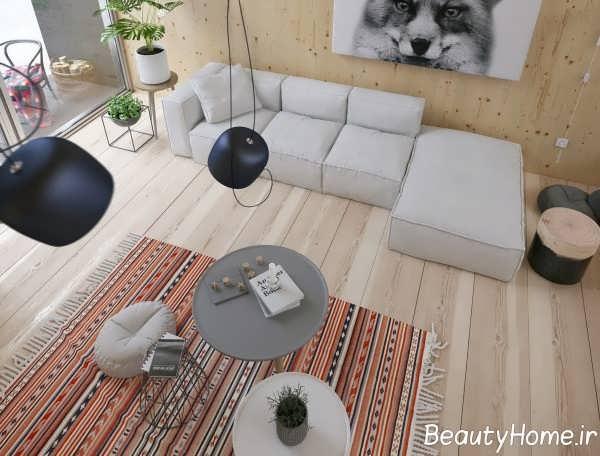 طراحی مدرن فضای داخلی منزل