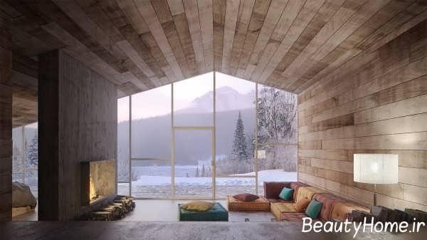 طراحی شیک فضای داخلی منزل