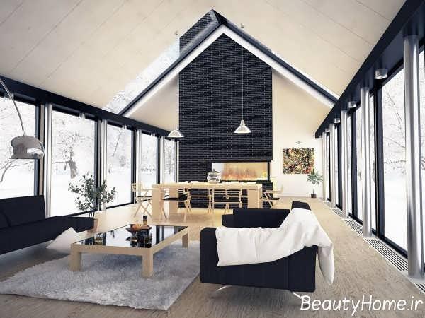 دیزاین عالی فضای داخلی منزل