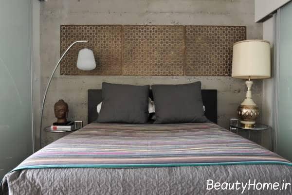 تزیین بالای تخت خواب