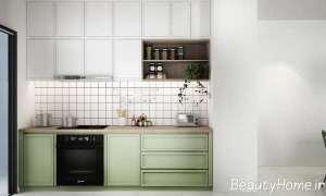 چیدمان عالی آشپزخانه با دکورهای دیواری