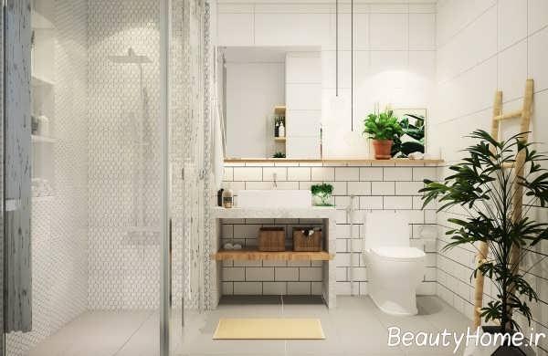 تزیین حمام با دکور دیواری