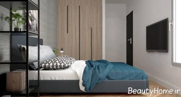 طراحی دکوری های شیک و متفاوت دیواری برای اتاق خواب