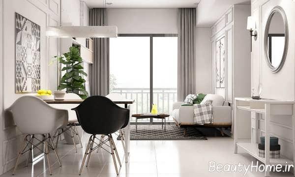 تزیین اتاق با دکوری دیواری