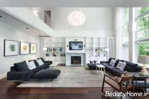 دیزاین عالی اتاق پذیرایی