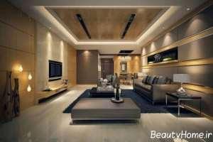دکوراسیون زیبای اتاق نشیمن