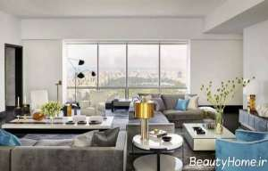 طراحی بی نظیر اتاق پذیرایی