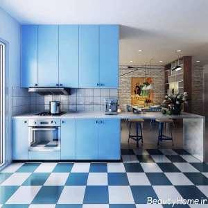چیدمان عالی آشپزخانه