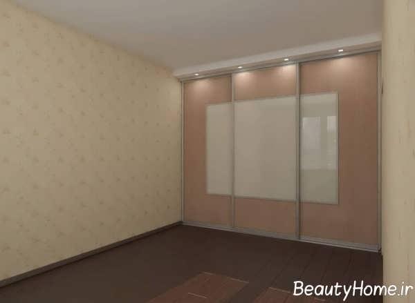 مدل فوق العاده کمد دیواری اتاق پذیرایی