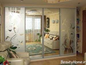 دیزاین زیبای کمد دیواری