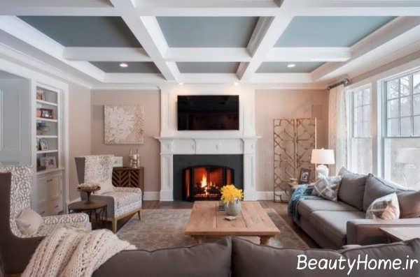 دیزاین زیبای سقف