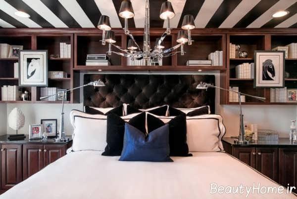 طراحی متفاوت سقف با رنگ آمیزی