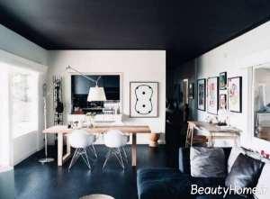 طراحی عالی سقف با رنگ آمیزی