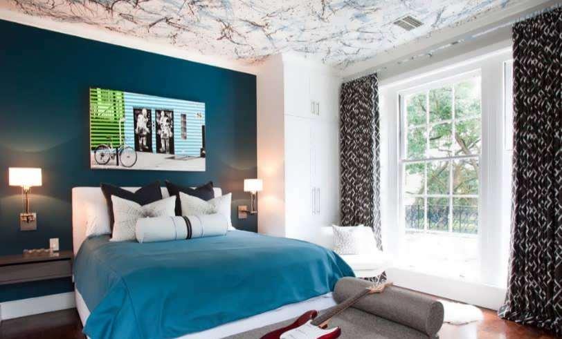 طرح جالب برای رنگ آمیزی زیبای سقف
