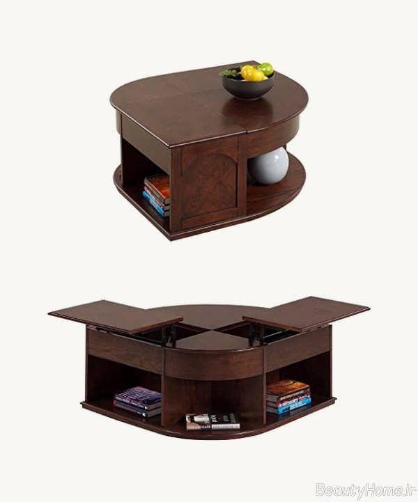 مدل میز چوبی جلو مربی
