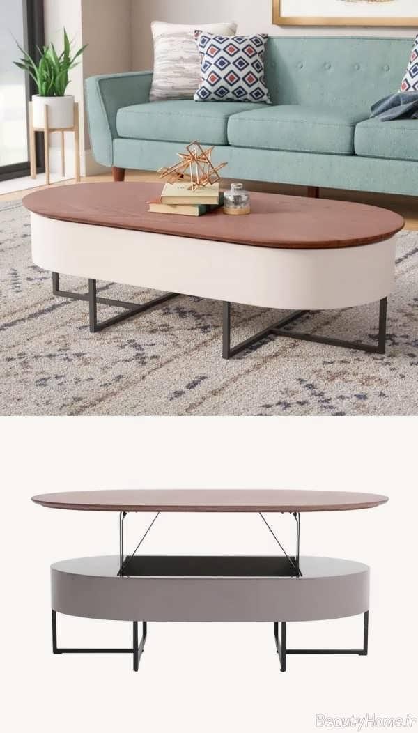 مدل میز شیک و زیبا جلو مبلی