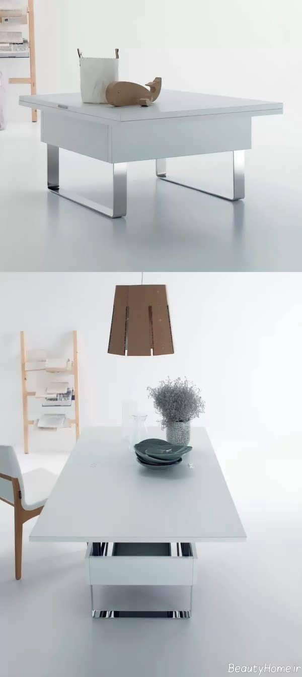 میز زیبا و جدید جلو مبلی