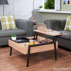 مدل میز جلو مبلی چند کاره و کاربردی