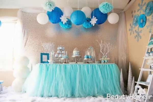 تزیین زیبا و فانتزی جشن تولد