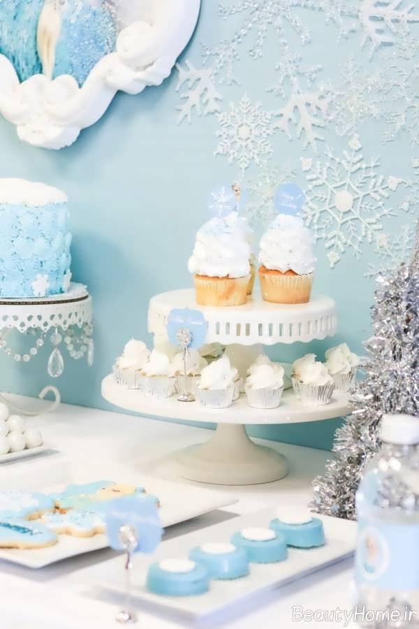 تزیین جشن تولد شیک و فانتزی