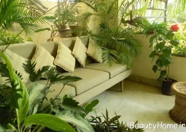 دیزاین داخلی فضای سبز