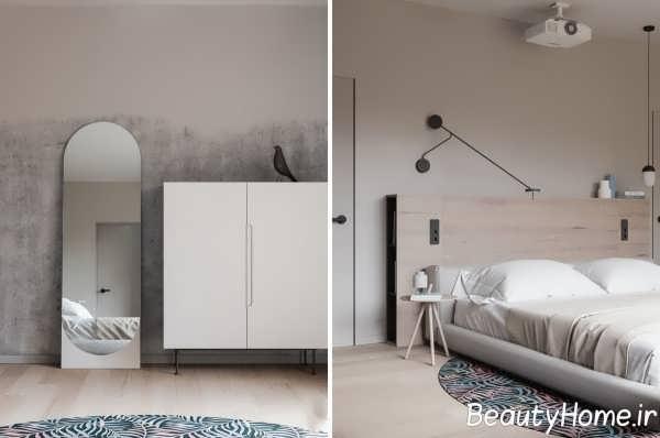 طراحی داخلی منزل به سبک مینیمال